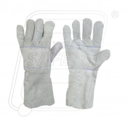 Hand gloves leather G/F(weld master plus)