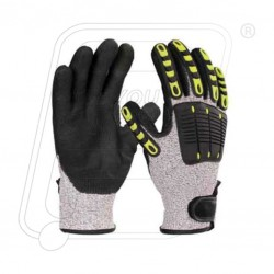 Hand Gloves Impact Resistance-Cut Level-5