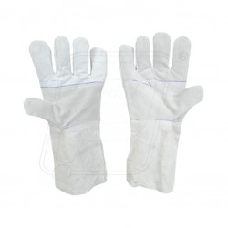 Hand gloves leather 35cm Protector