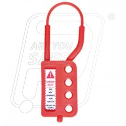 Non Conductive Hasp Lockout With 4 holes