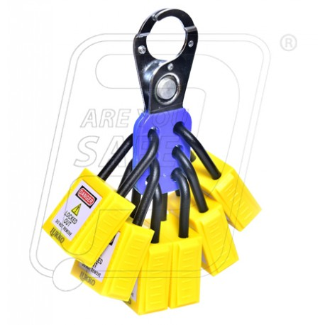 Lockout OSHA Padlock nylon HASP kit H73 Lukko