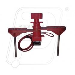 Universal valve lockout with double small arm UV84 Lukko