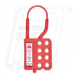 Non Conductive Hasp Lockout With 8 holes