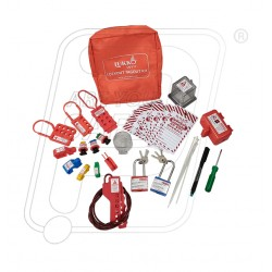 Lockout Tagout Electrical power pouch kit