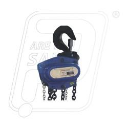 Ferreterro chain pulley block silver 2 Ton single fall