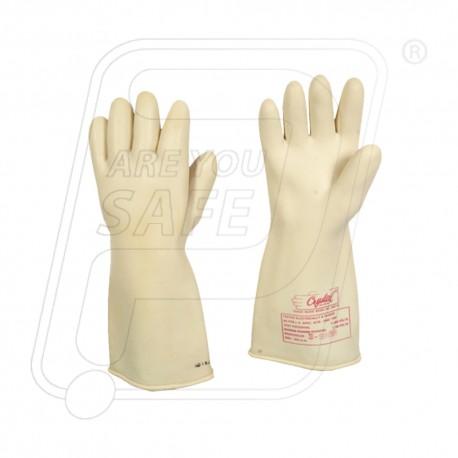 Hand gloves electrical 33000volt WP 11000 volt