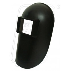 Welding hand screen black PVC