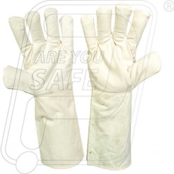 Hand gloves cotton drill 35 cm