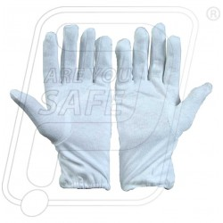 Hand gloves hosiery double