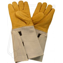 Hand gloves cryogenic welder H 468