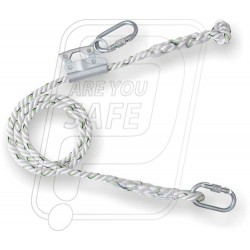 Work positioning lanyard with grip adjuster PN 242 Karam