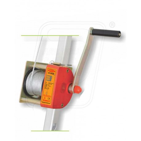 Winch with 20 GI wire rope