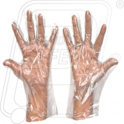 Hand gloves PVC disposable