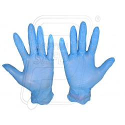 Hand gloves nitrile examination