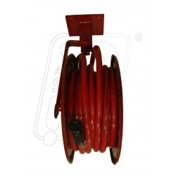 Fire hose reel swivelling type with pipe & nozzle