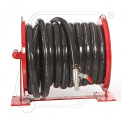 Fire hose reel drum with 25 mm X 30 M pipe & nozzle Ahmedabad type.