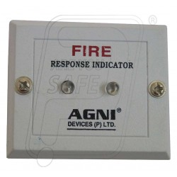 Fire alarm response indictor.