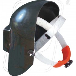 Welding helmet screen with ring PVC