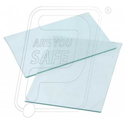 "Welding Glass Clear 4.25"" x 3.25"""