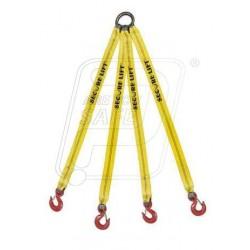 Four legged webbing sling 3T X 6M