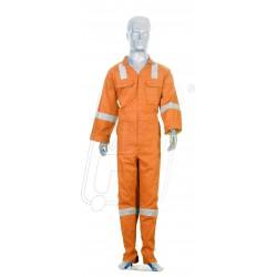Work wear orange heavy duty with reflective tape 1 PC