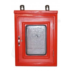 Fire hose box single Made from Fibre reinforce Plastic