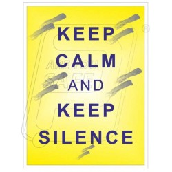 Keep clamp and keep silence