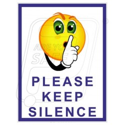 Please keep silence
