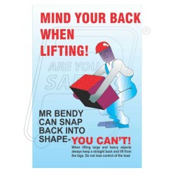 Mind your back when lifting