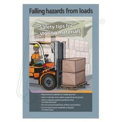 Falling hazard from load