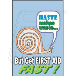 Get first aid fast