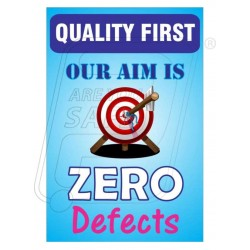 Our aim is zero defect