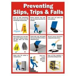 Preventing slip. trip & falls