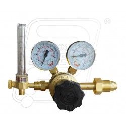 S.S & D.G regulator with Argon / CO2 flow meter