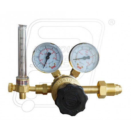 S.S & D.G regulator with Argon / CO2 flow meter