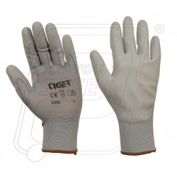 Hand gloves PU coated P 313 G Tiger