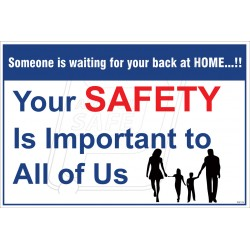 Your safety is important to all of as
