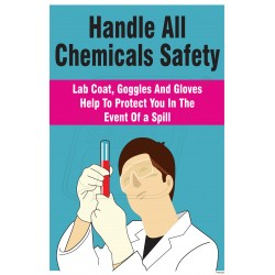 Handle all chemical safely