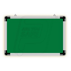 Writing ceramic board white & green