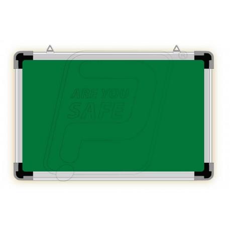 Writing ceramic board white & green