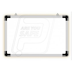 Writing Non magnetic board white & green