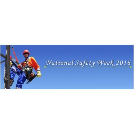 Safety week banner