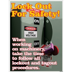 Lock out for safety