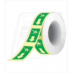Night glow way finding tape 50 mm X 10 M