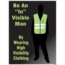 "Be an ""In"" visible man"