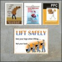 Material handling & Lifting posters