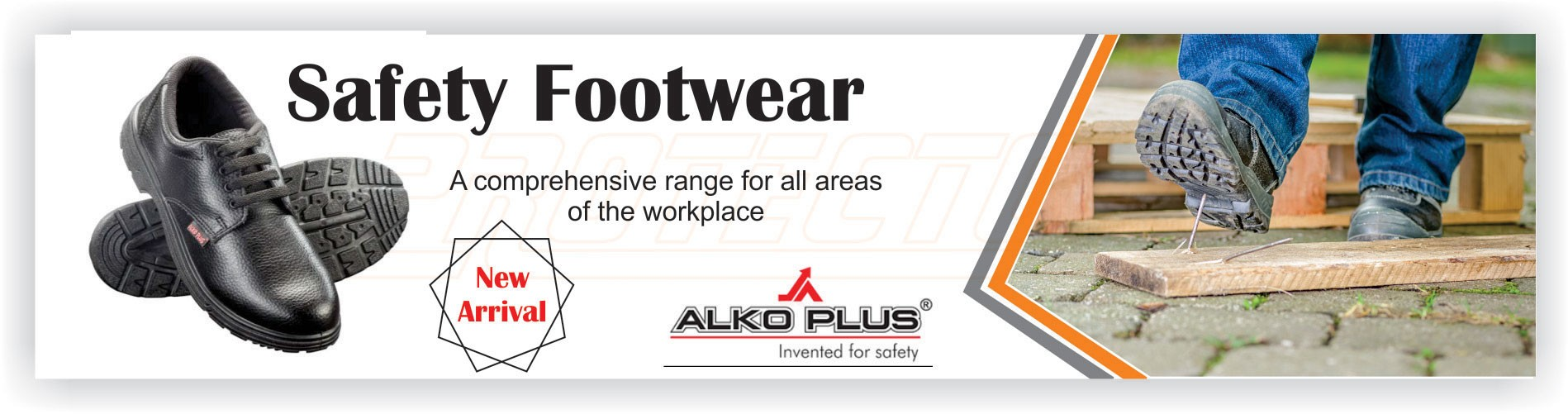 Safety Shoes PU sole APS 2000 Double Density