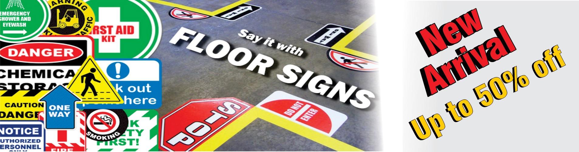Floor Signages